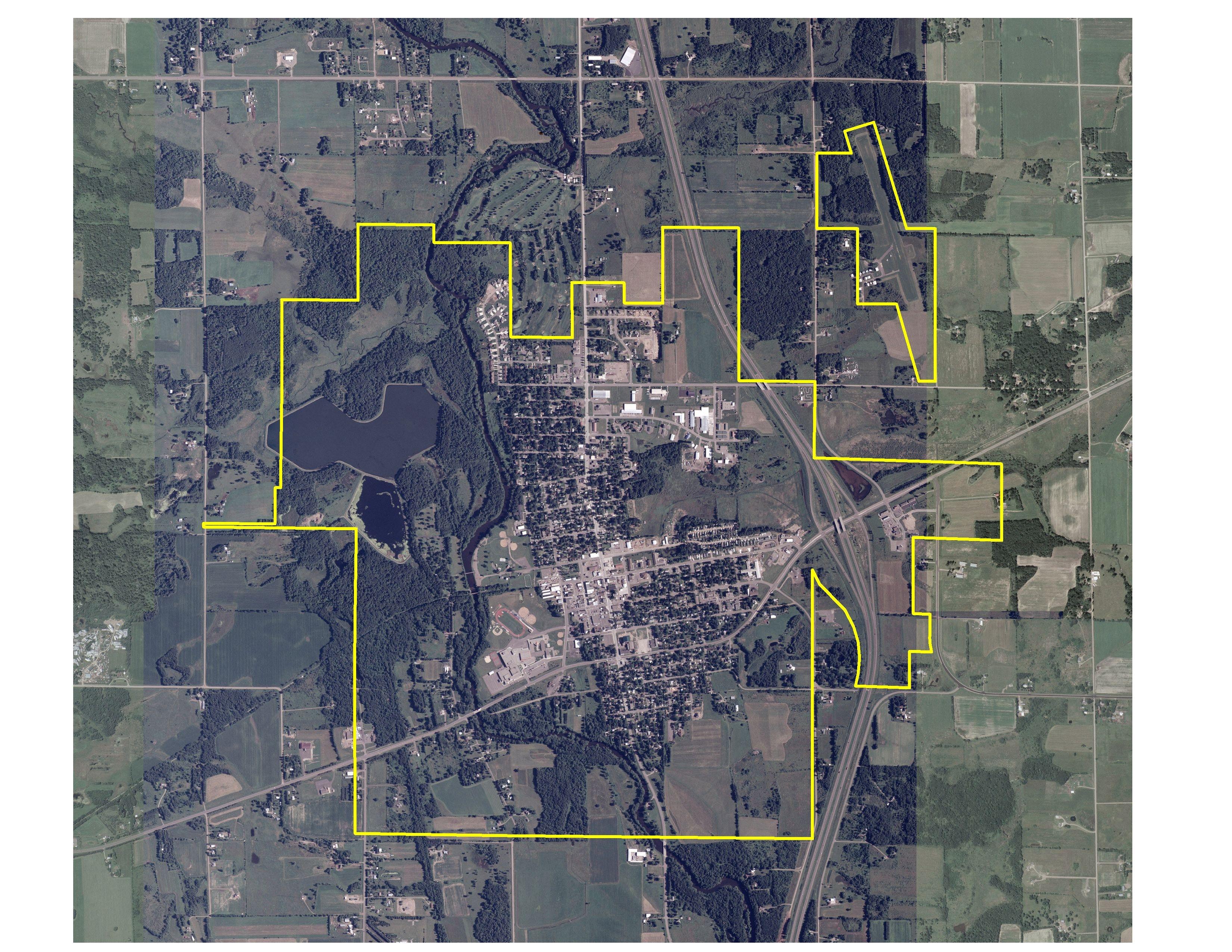 Maps Aerial Free Aerial Map of Milaca – Public